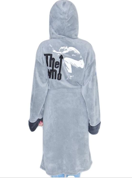 Picture of The Who: Grey Bathrobe