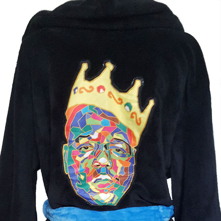 Picture of Biggie Smalls: Biggie Smalls 'Crown' Robe