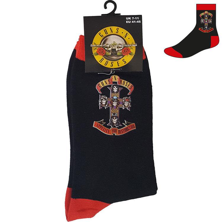 Picture of Guns N' Roses: Appetite Cross Unisex Ankle Socks