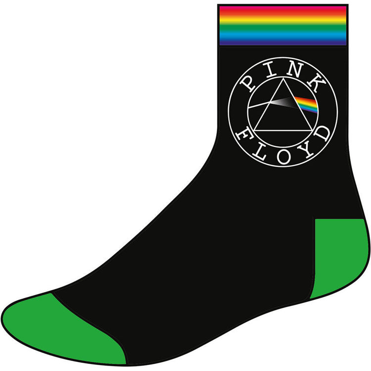 Picture of Pink Floyd: Circle Logo Unisex Ankle Socks