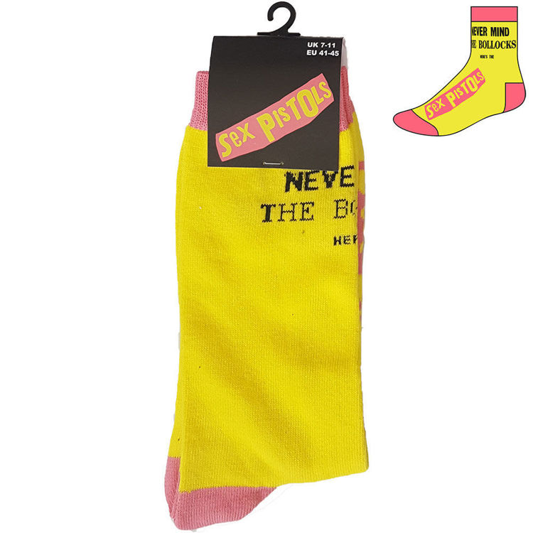 Picture of The Sex Pistols: Never Mind the Bollocks Unisex Ankle Socks