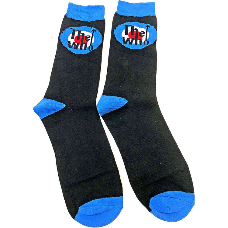 Picture of The Who: Target Logo Unisex Ankle Socks