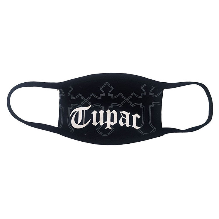 Picture of Tupac: Face Mask Logo & Crosses