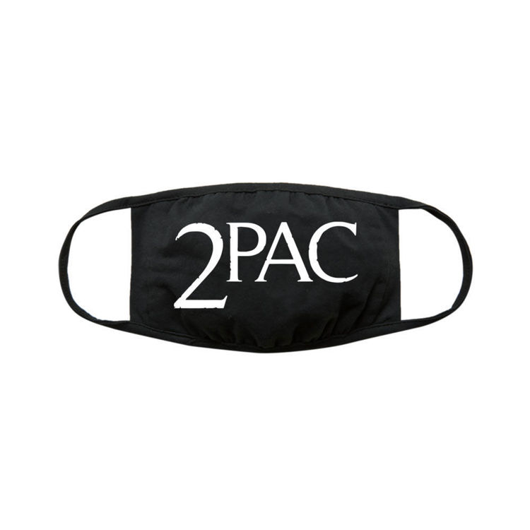 Picture of Tupac: Face Mask Logo